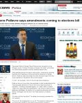 Pierre Poilievre says amendments coming to elections bill